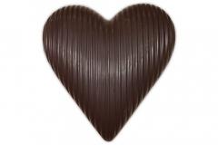 chocolade hart massief puur 190g