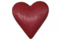 chocolade hart massief rood 190g