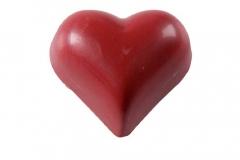 praline hartje rood